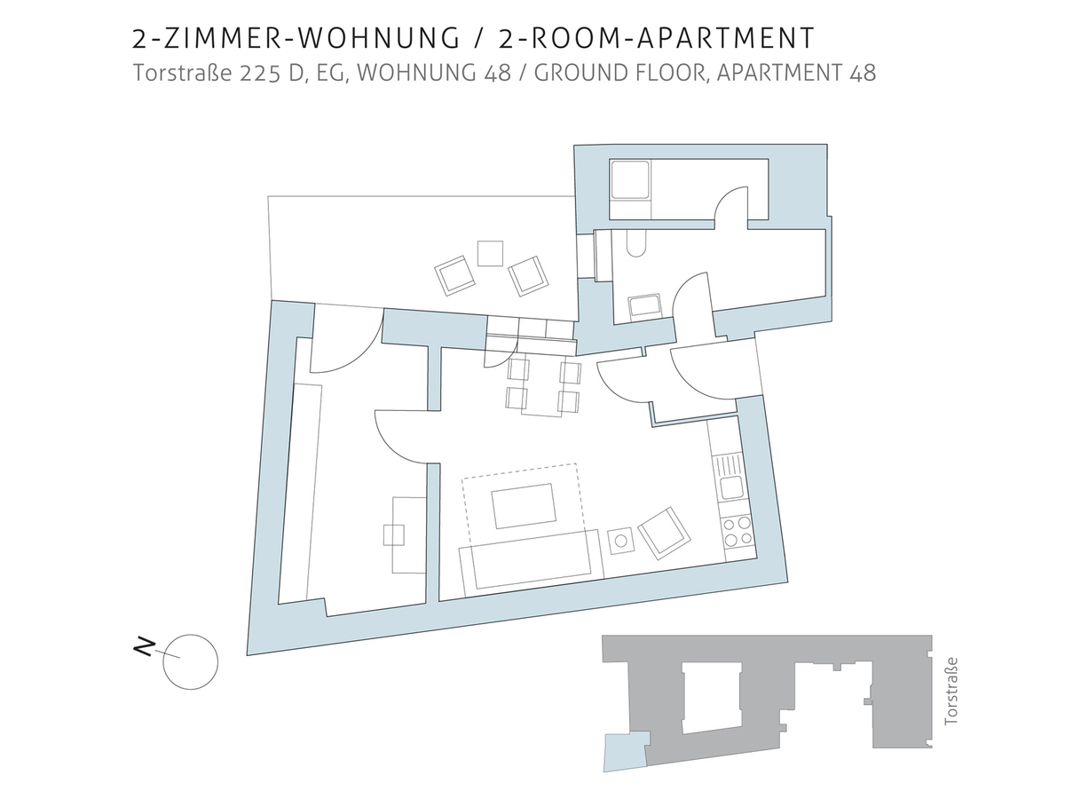 Floor plan unit 48 | Torstraße