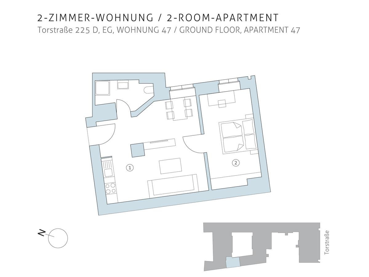 Floor plan unit 47 | Torstraße