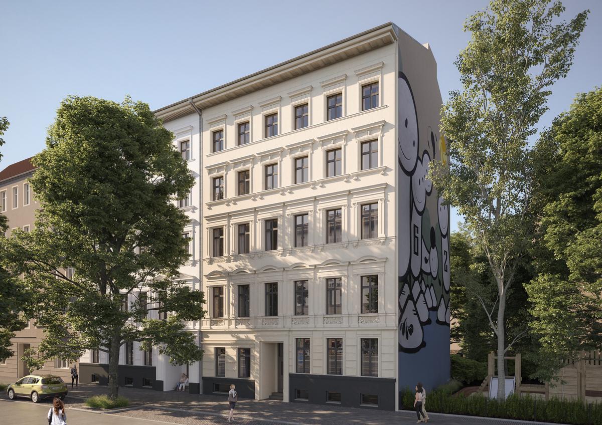 Hausansicht   Wrangelstraße