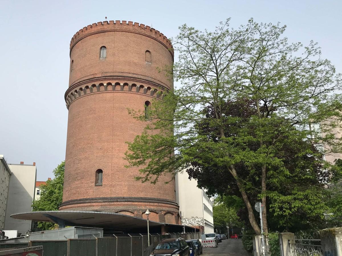 Umgebung und Wasserturm | Kopfstraße