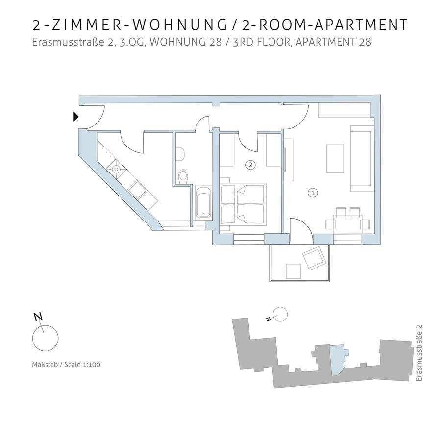 Grundriss 28 | Erasmusstraße
