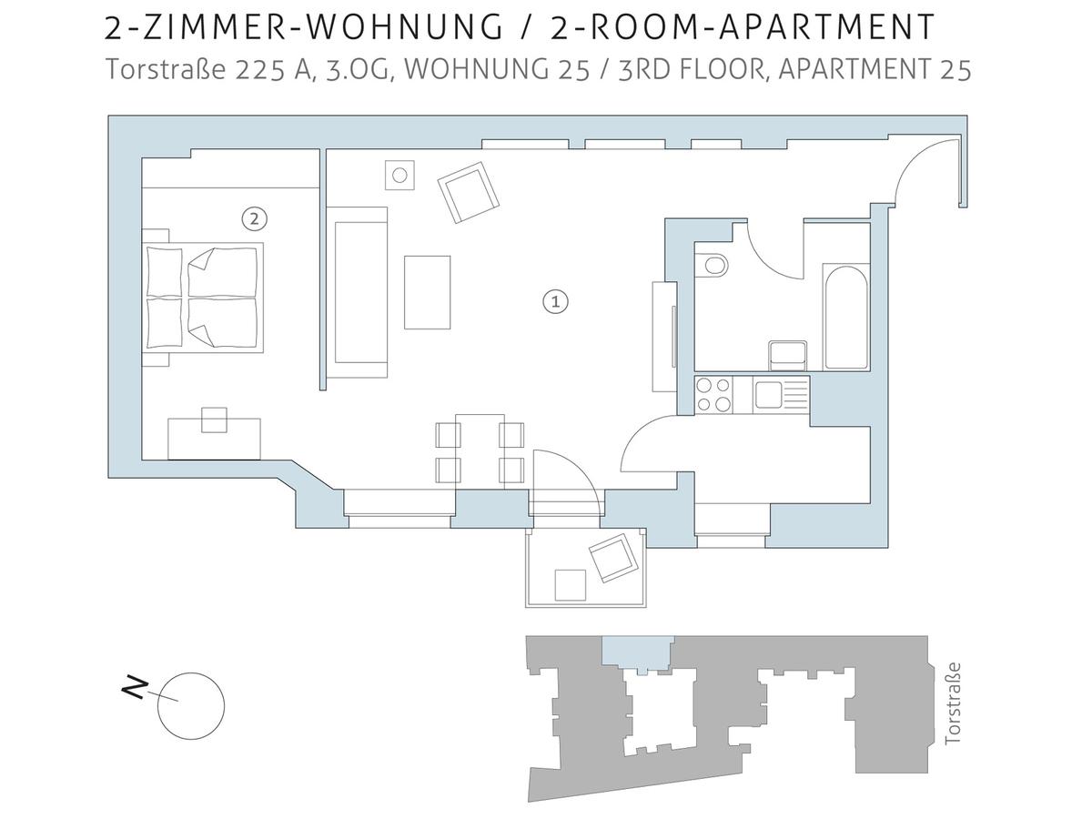 Floor plan unit 25 | Torstraße
