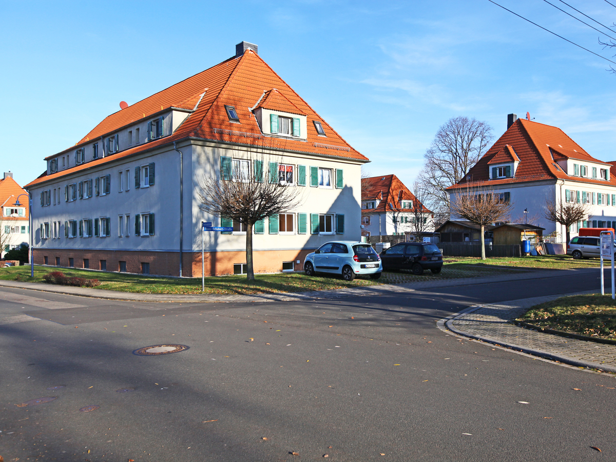Straßenansicht - Beethovenstraße | Karl-Bartelmann-Straße
