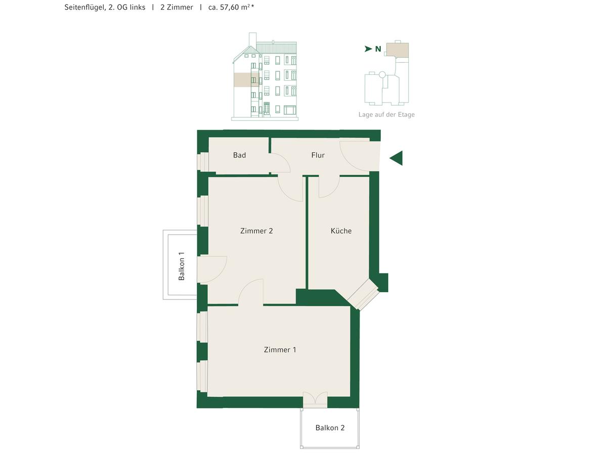 Floorplan Unit 12 | Johannisberger Straße