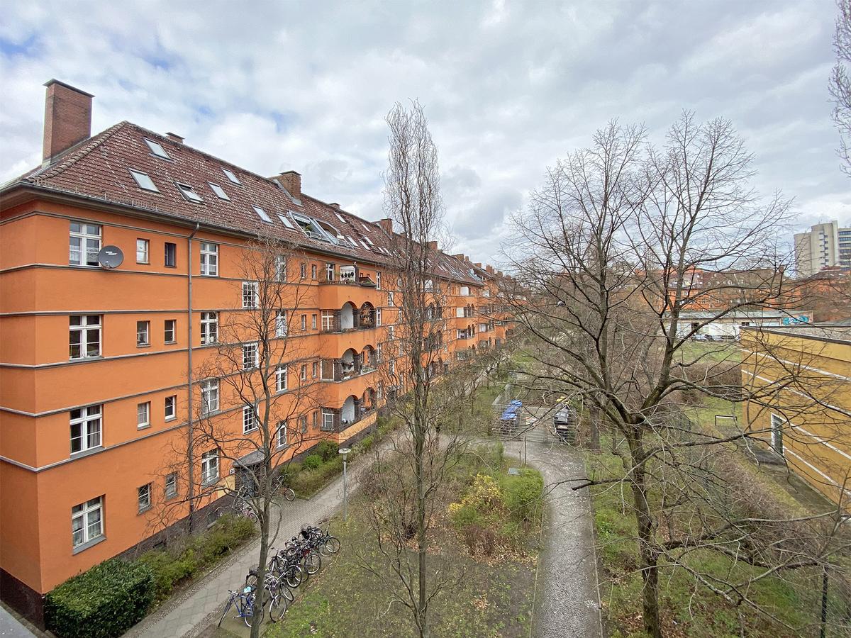 View above courtyard | Amrumer Straße