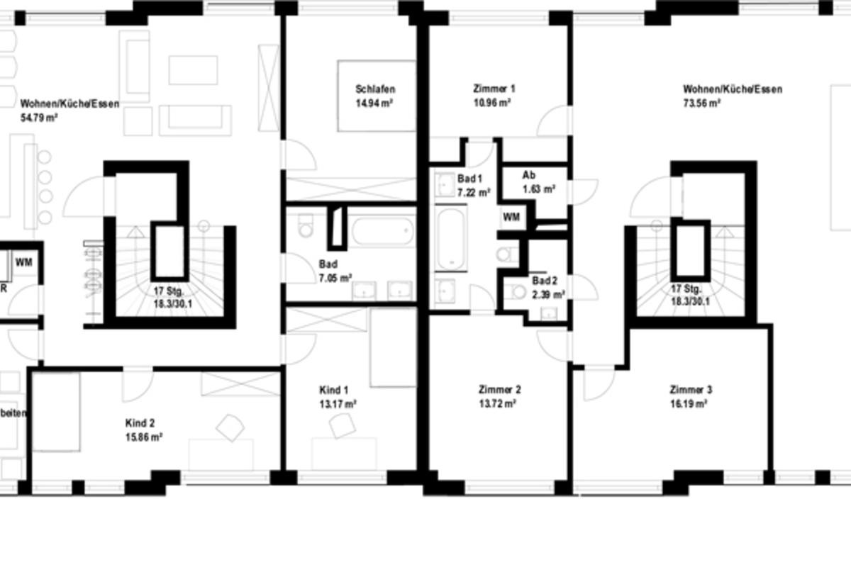 Townhouse apartments in Berlin-Kreuzberg: High-End Attic ...