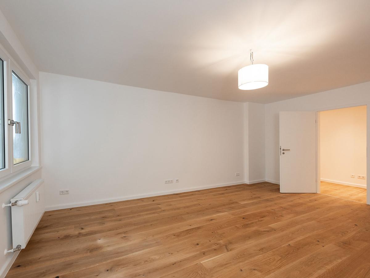 Leerwohnung Beispiel Zimmer | Weichselstraße