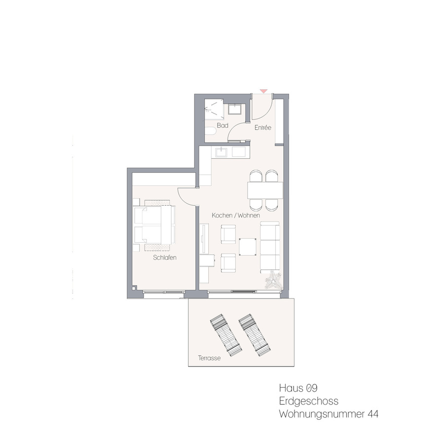 Haus 09 EG WE44 | Hauptstraße