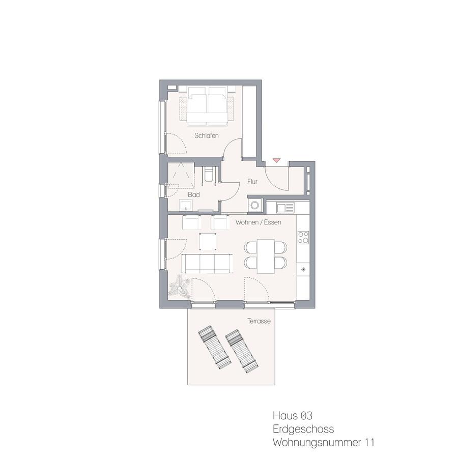 Haus 03 EG WE11 | Hauptstraße