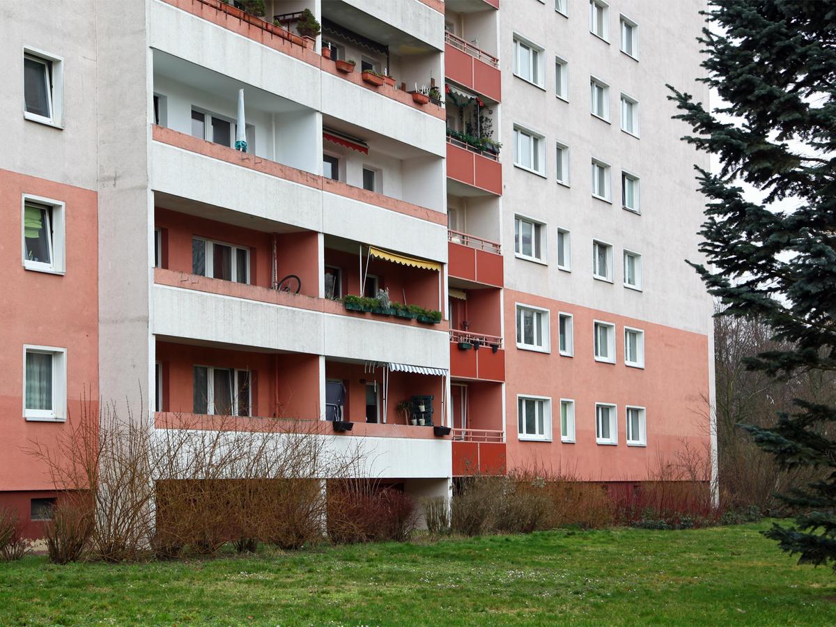 Rückseite Gebäude | Marchwitzastraße