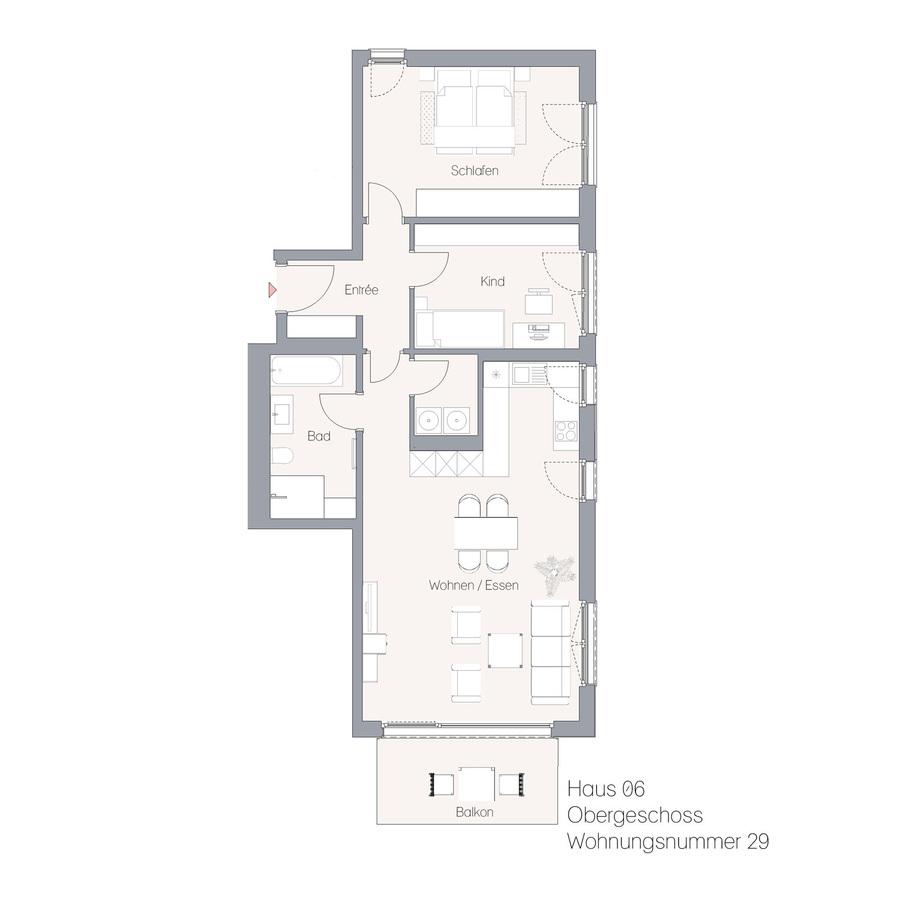 Haus 06 OG WE29 | Hauptstraße