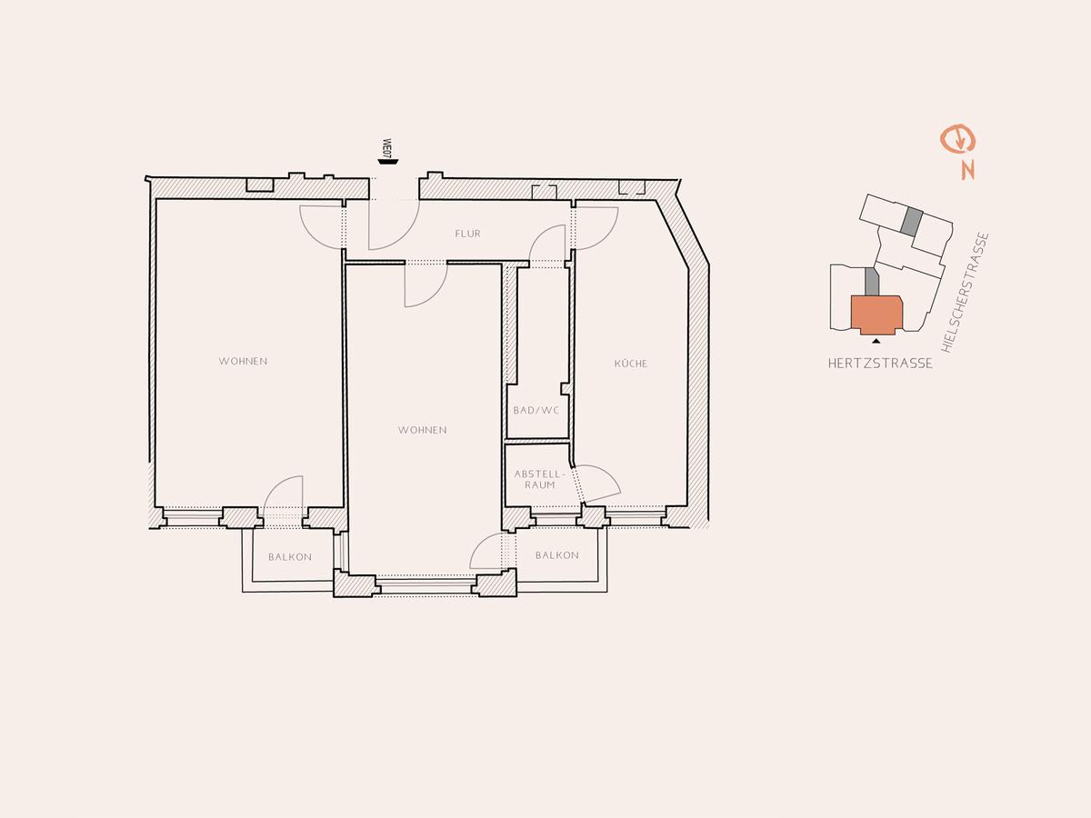 Floor plan unit 7 | Hertzstraße