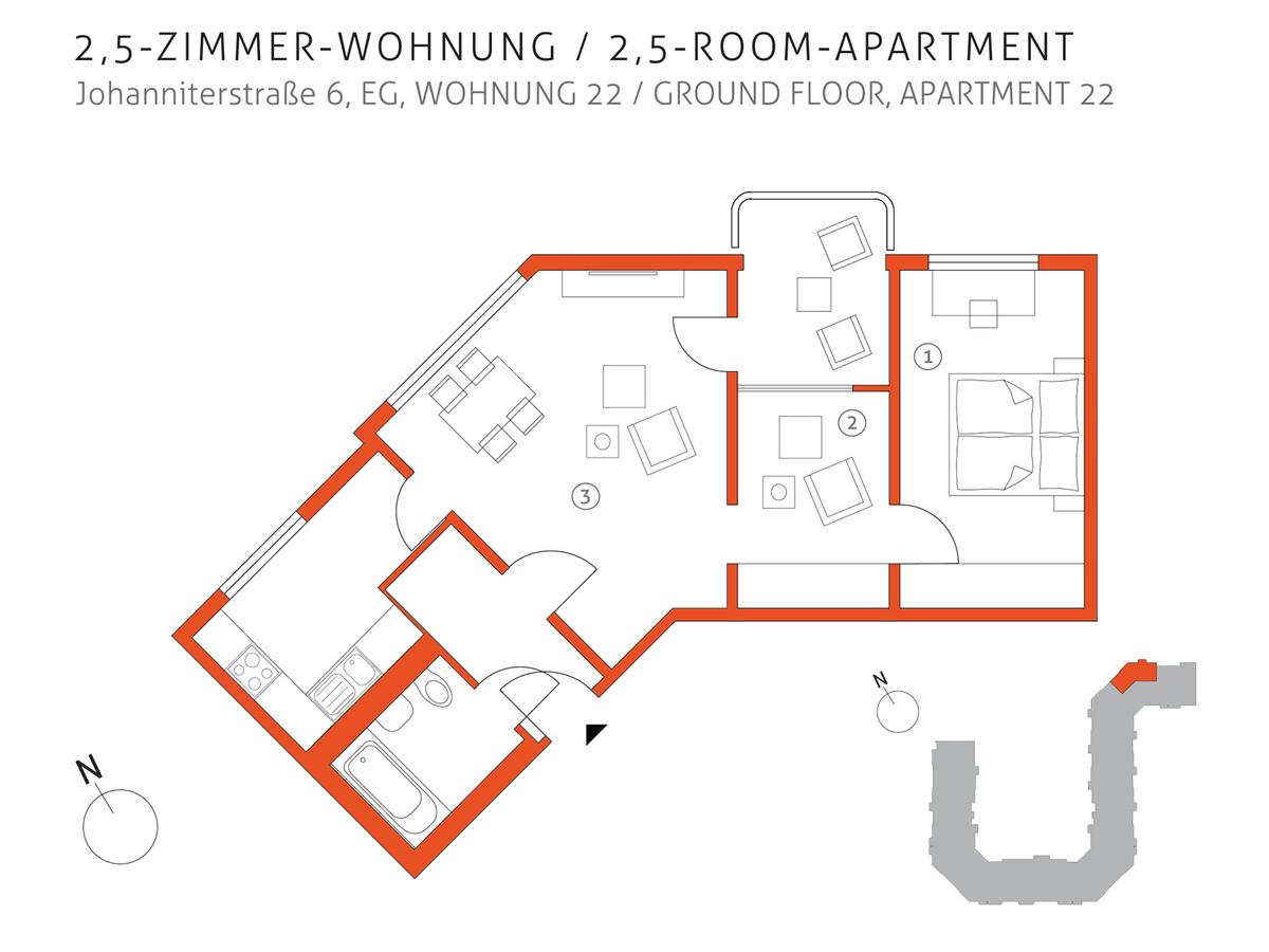 Grundriss 22   Johanniterstraße