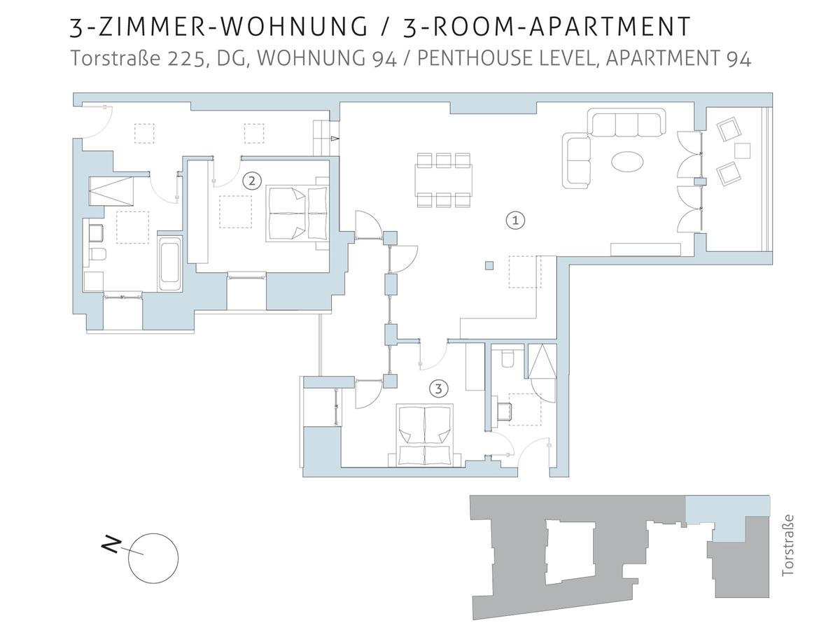 Floor plan unit 94 | Torstraße