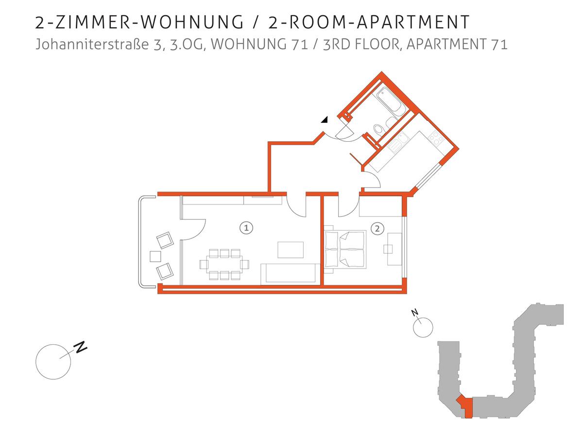 Grundriss 71 | Johanniterstraße