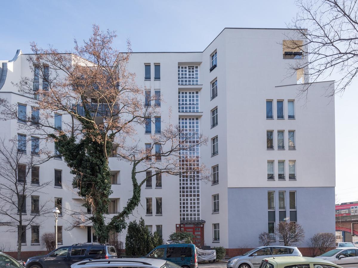 Fassadenansicht   Flotowstraße